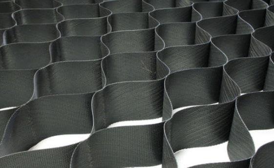 Георешетка залитая бетоном бетон в новомихайловке